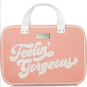 Benefit cosmetics feelin gorgeous cosmetic bag